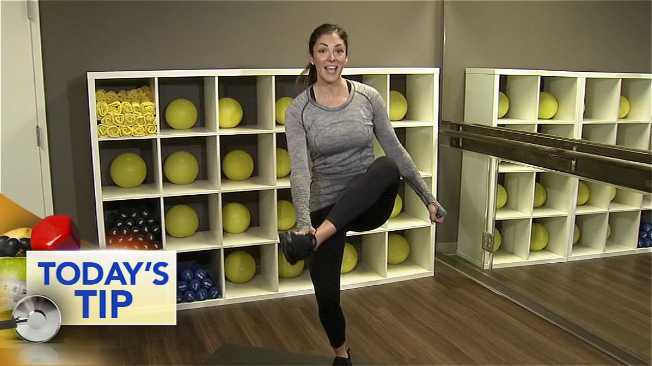 Shoshana shows you a move to start your day or your workout.