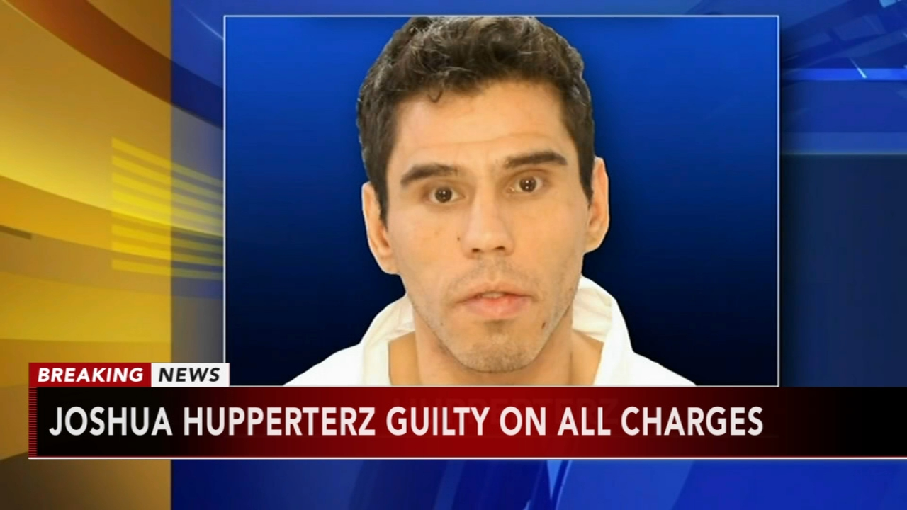 Hupperterz guilty on all charges: Sarah Bloomquist reports on Action News at 5 p.m., January 17, 2019