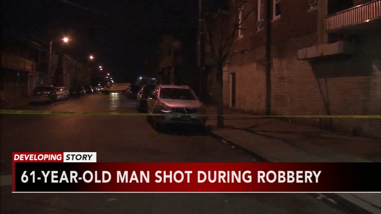 Man shot in the face during North Phila. robbery. Katherine Scott reports during Action News Mornings on January 17, 2019.
