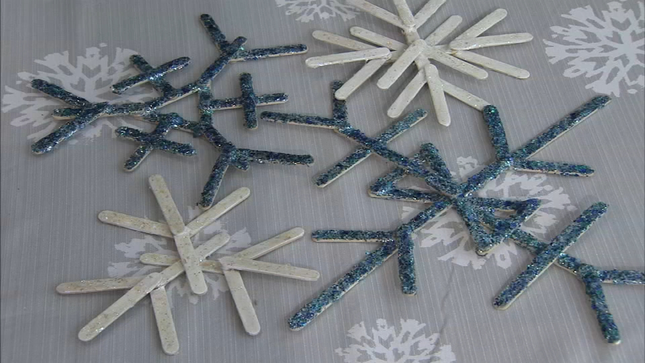 Whats the Deal: Snow-inspired crafts for the whole family - ALicia Vitarelli reports during Action News at 4:30pm on January 17, 2019.