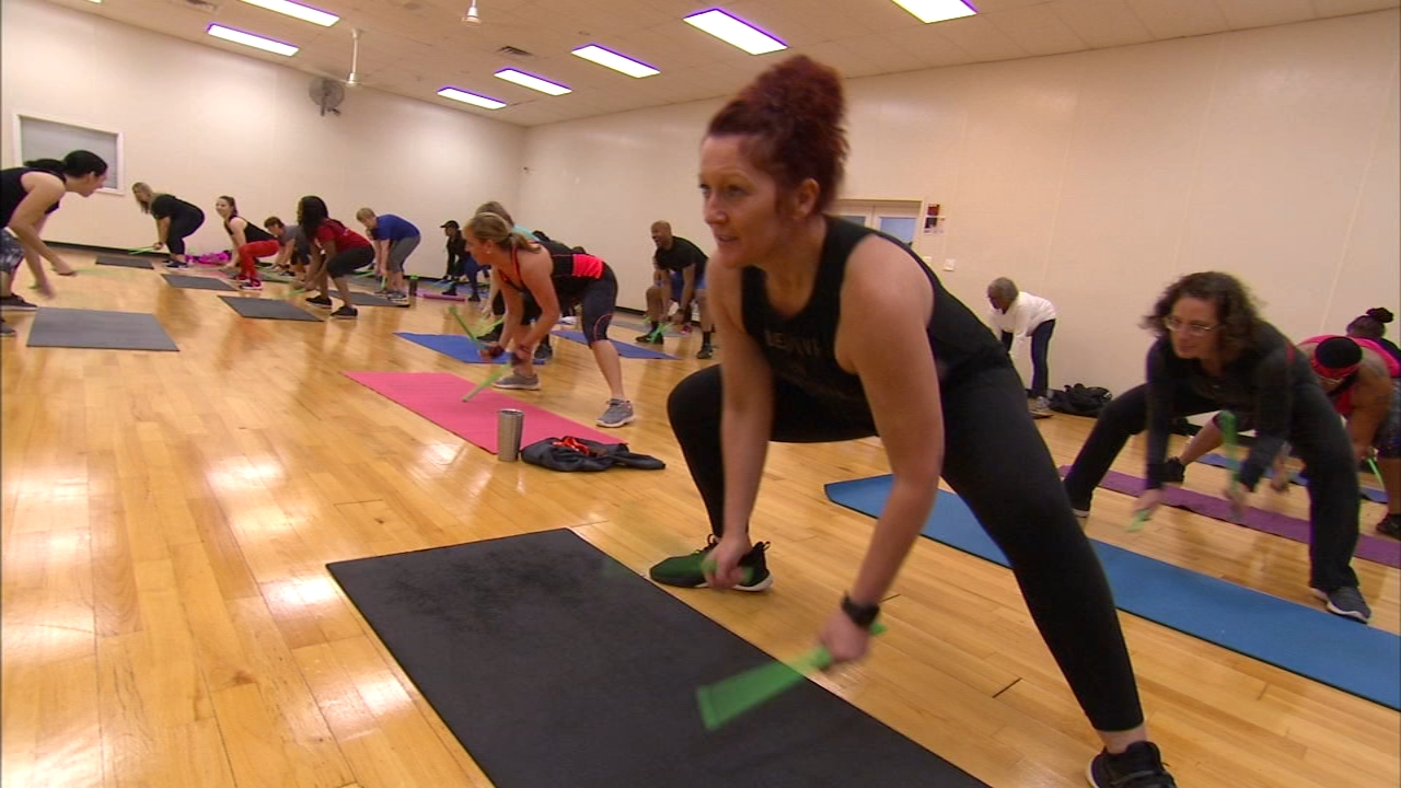 Pound Fitness unleashes inner rock star. Ali Gorman reports during Action News at 5 p.m. on January 18, 2019.