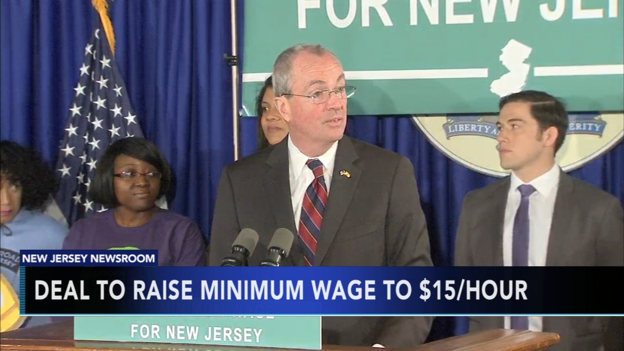 Deal reached to raise N.J. minimum wage to $15. Tamala Edwards reports during Action News Mornings on January 18, 2019.