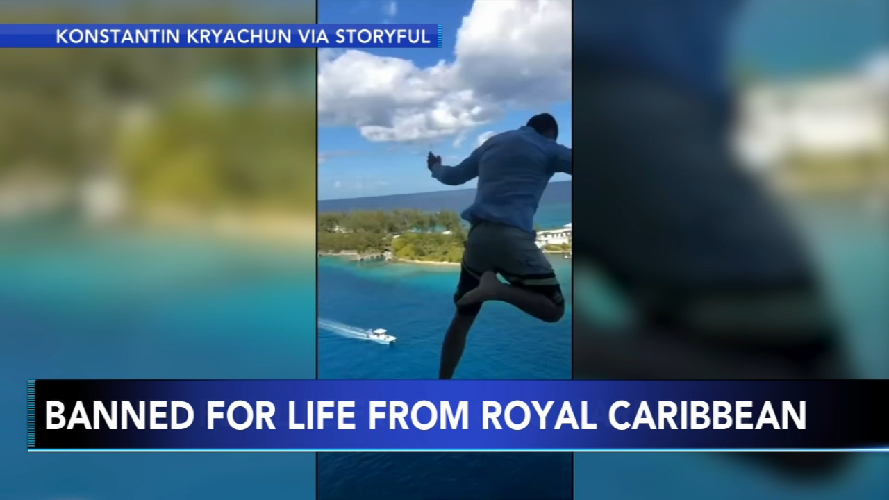 Man, friends banned for life from Royal Caribbean. Tamala Edwards reports during Action News Mornings on January 18, 2019.