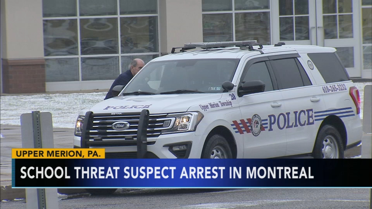 Upper Merion police and the FBI say a suspect has been taken into custody as reported during Action News at 11 on January 18, 2019.