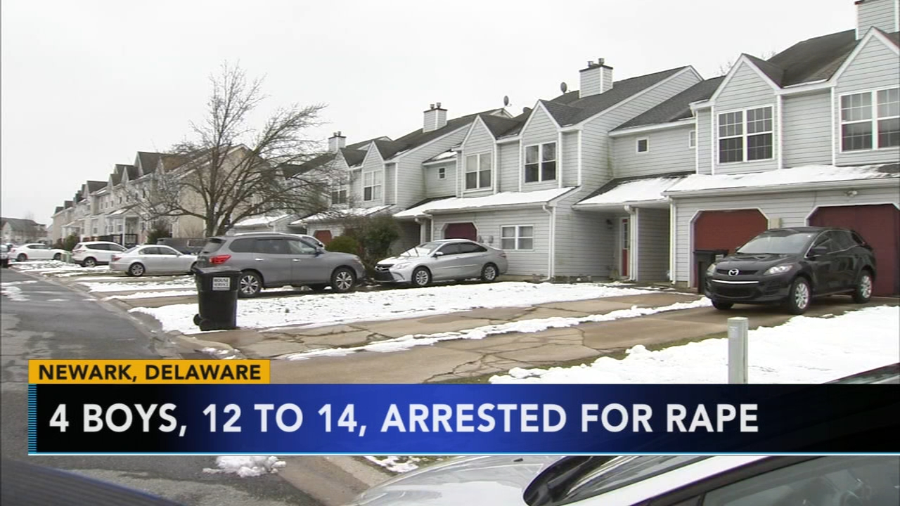 4 boys, ages 12 to 14, arrested for rape in Delaware. Jim Gardner reports during Action News at 6 p.m. on January 18, 2019.