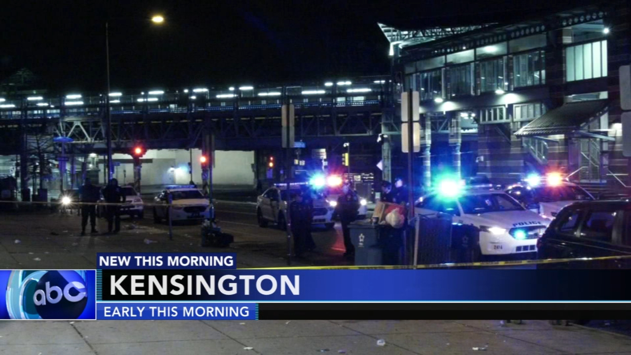Man shot and killed following fight outside club in Kensington. Christie Ileto reports during Action News at 6 a.m. on January 19, 2019.