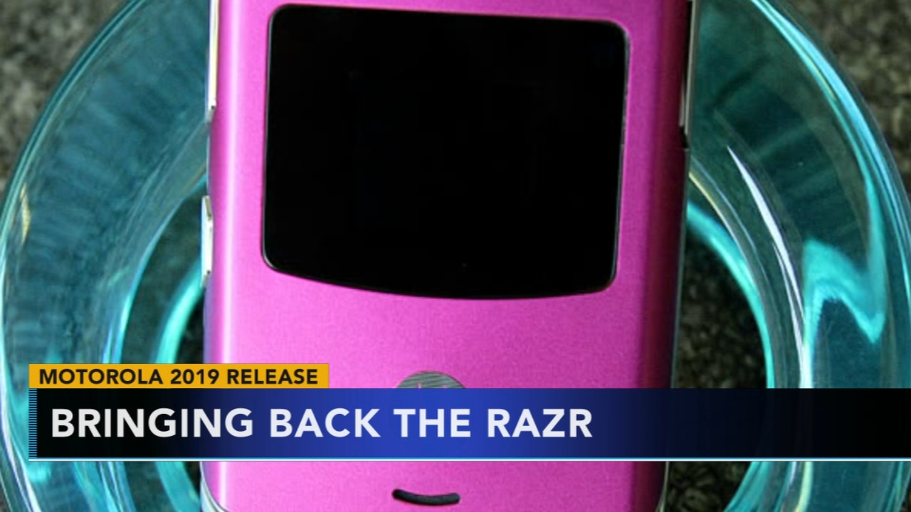 Motorola bringing back Razr phone with a few upgrades. Gray Hall reports during Action News at 6 a.m. on January 19, 2019.