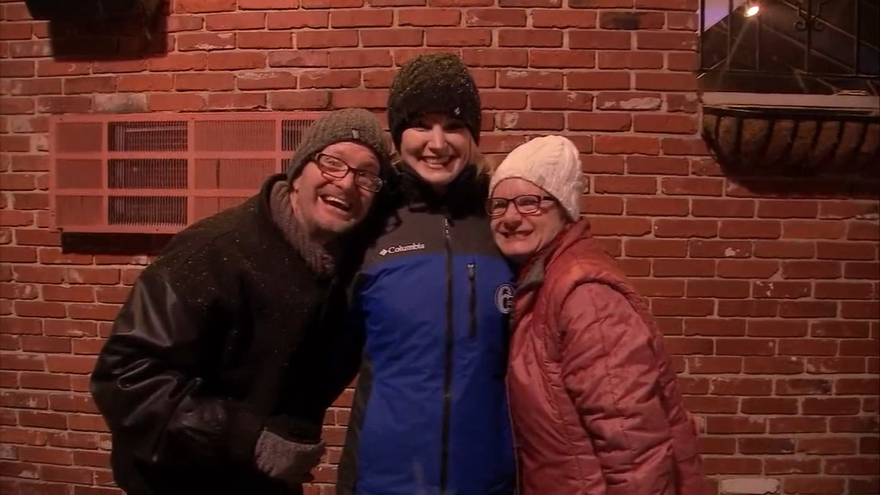 Folks cope with cold and rainy weather in Phoenixville. Maggie Kent reports during Action News at 11:30 p.m. on January 19, 2019.