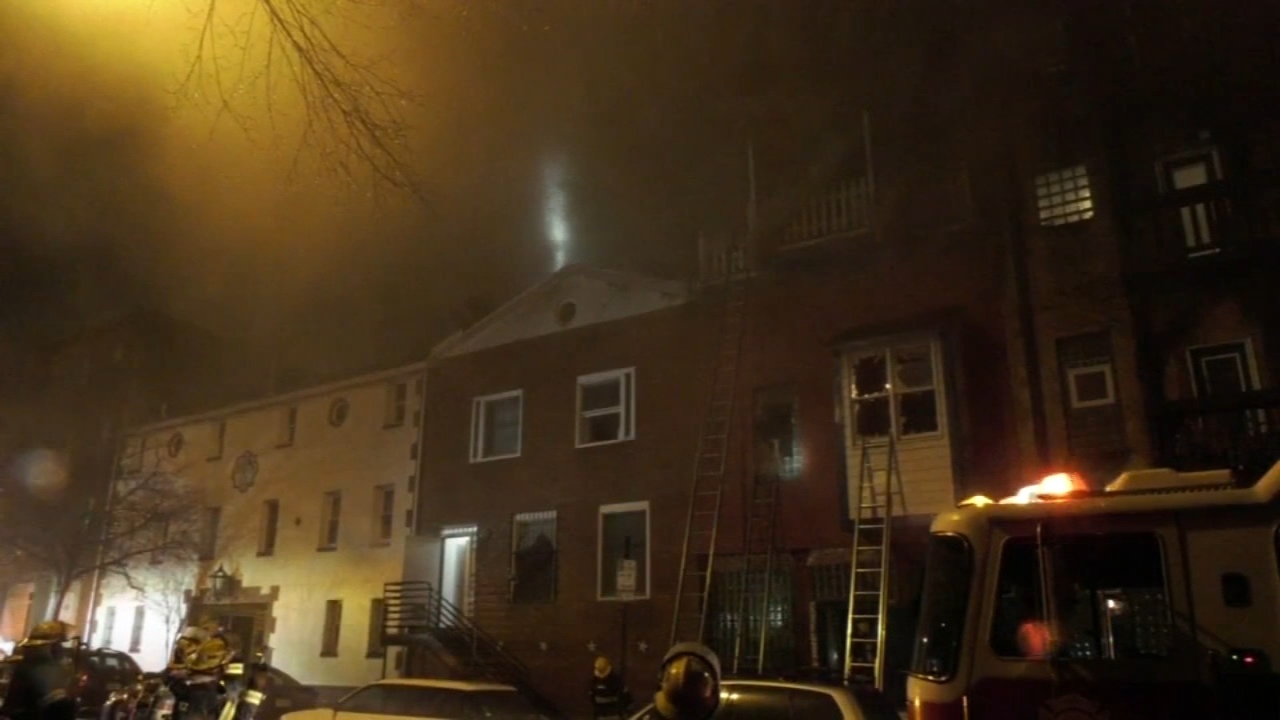 Fire forces evacuation of apartment building in Northern Liberties. Bob Brooks reports during Action News at 6 a.m. on January 20, 2019.