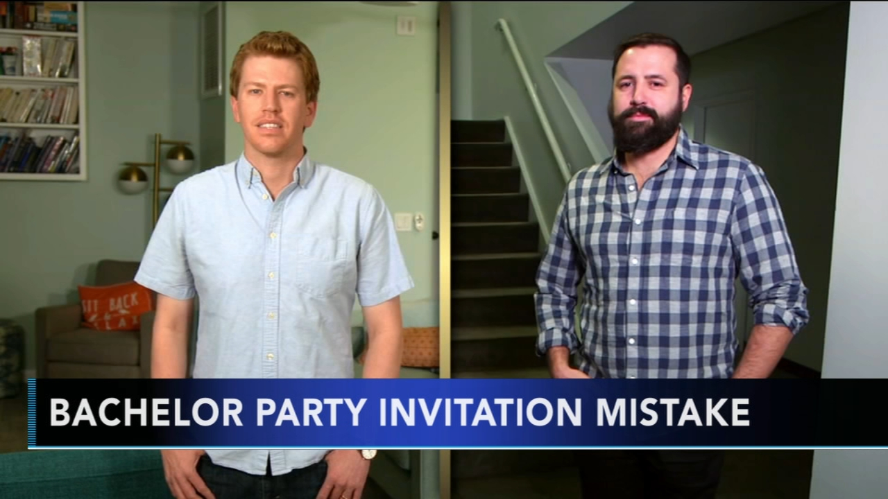 Man accidentally invited to bachelor party flies across the country to attend. Gray Hall reports during Action News at 9 a.m. on January 20, 2019.