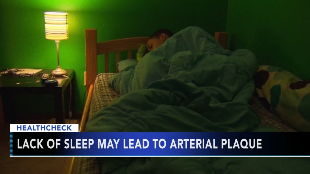 Study says poor sleep linked to plaque buildup. Nydia Han reports during Action News at 9 a.m. on January 20, 2019.
