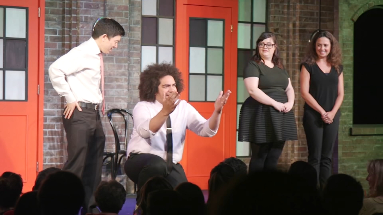 Laugh out loud with Chicagos The Second City improv act. Karen Rogers reports during Action News at 7 a.m. on January 20, 2019.