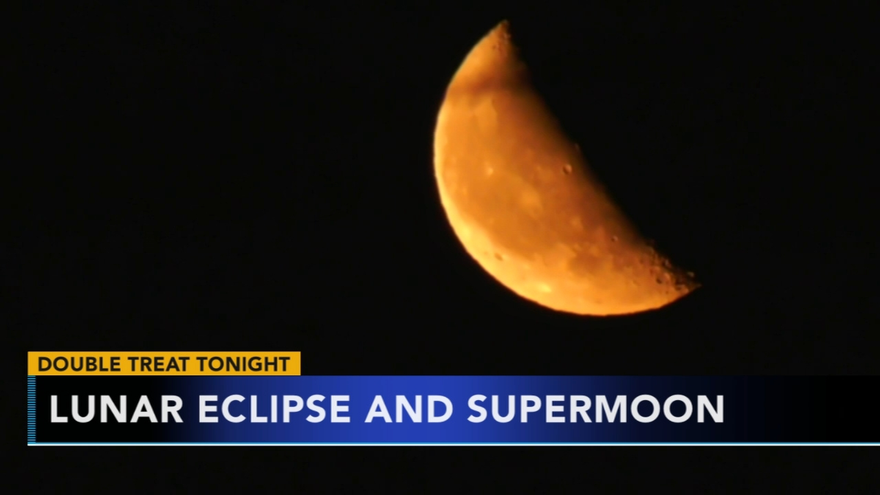 Total lunar eclipse and supermoon to occur. Nydia Han reports during Action News at 6 a.m. on January 20, 2019.