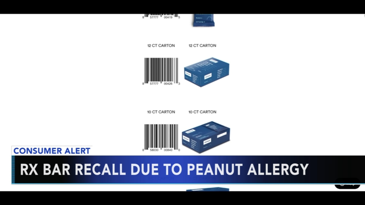 RXBar Protein bars recalled due to peanut allergy concerns. Gray Hall reports during Action News at 9 a.m. on January 20, 2019.