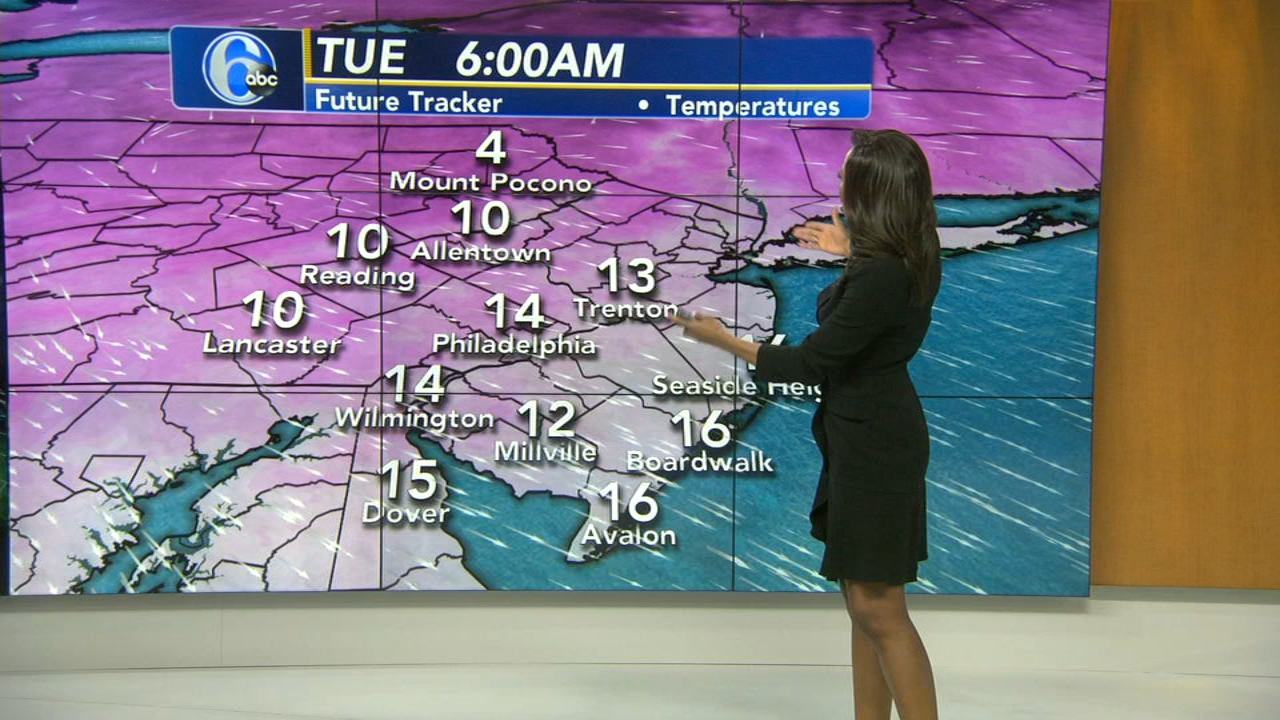 Melissa Magee has the latest from AccuWeather on Action News at 4 p.m. on January 21, 2019.