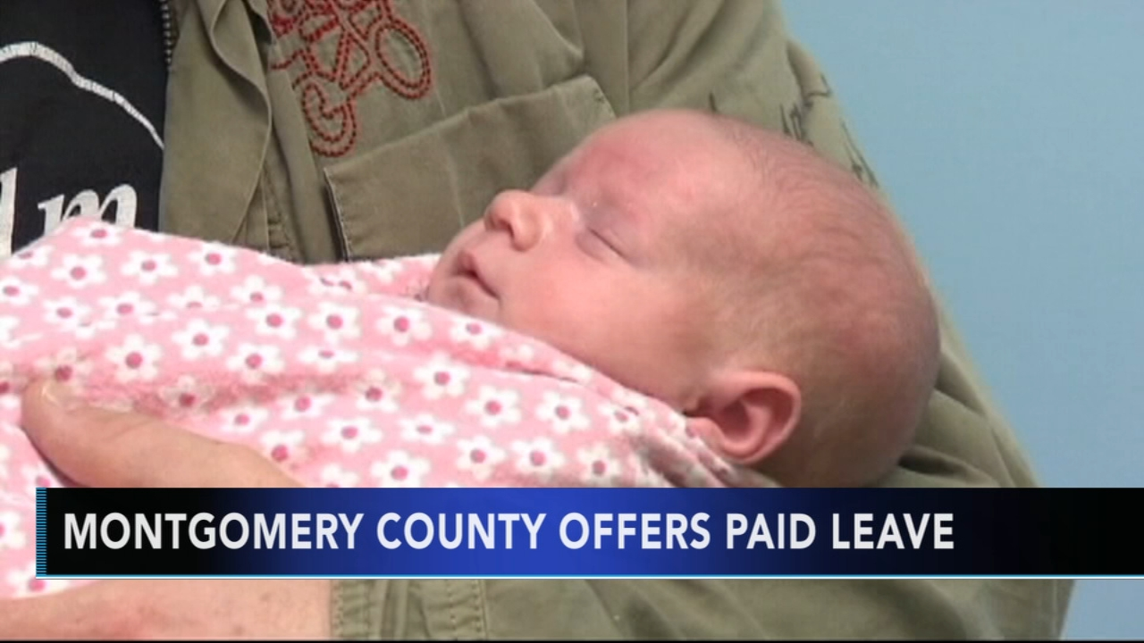 Montgomery County offers paid parental leave for employees. Watch the report from Action News at 4:30 p.m. on January 21, 2019.
