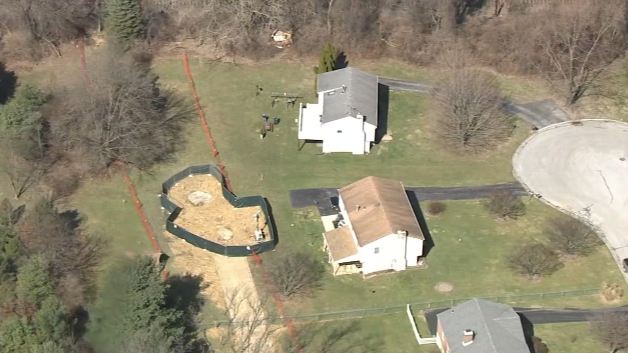 Neighbors concerned after latest sinkhole related to ME-1 pipeline. Trish Hartman reports during Action News at 5:30pm on January 22, 2019.