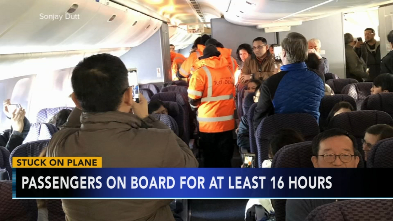 Passengers on board flight for at least 16 hours. Tamala Edwards reports during Action News Mornings on January 21, 2019.