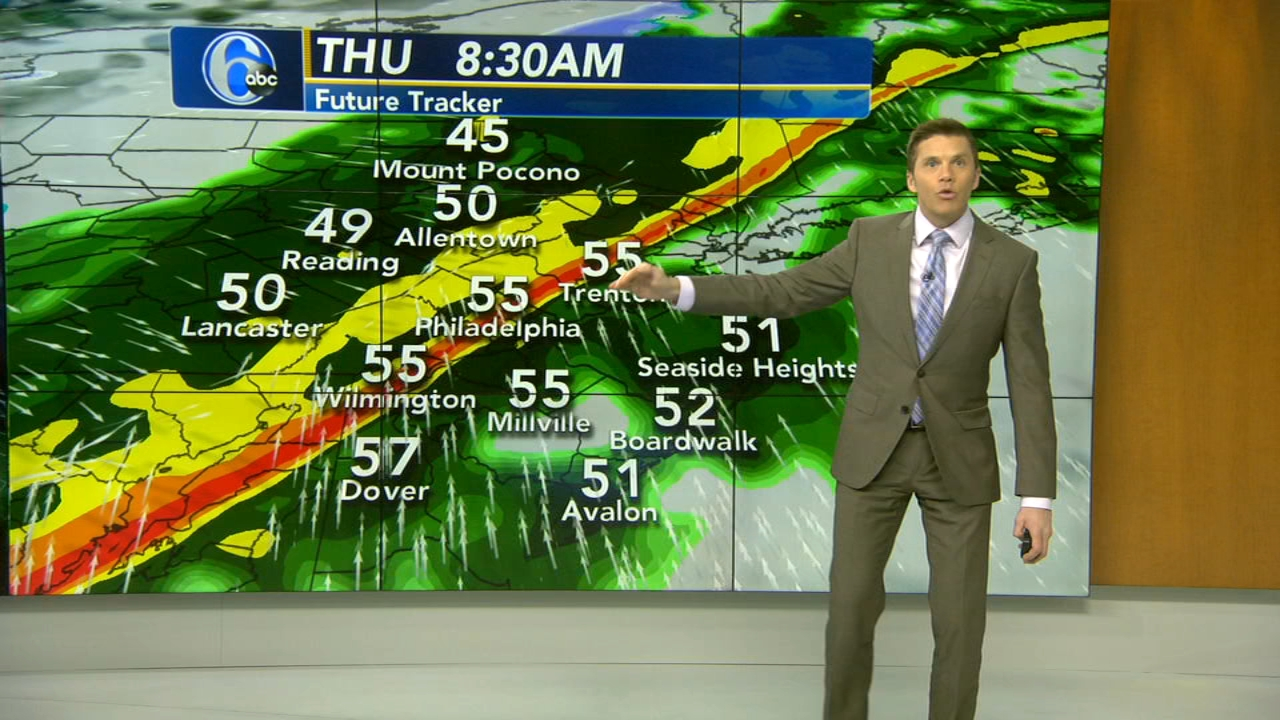 Adam Joseph has the latest from AccuWeather on Action News at 4 p.m. on January 22, 2019.