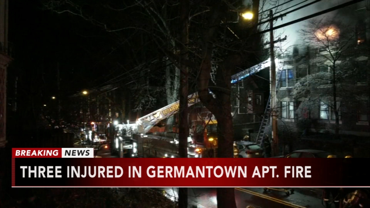 3 injured in Germantown fire. Jeannette Reyes reports during Action News Mornings on January 22, 2019.