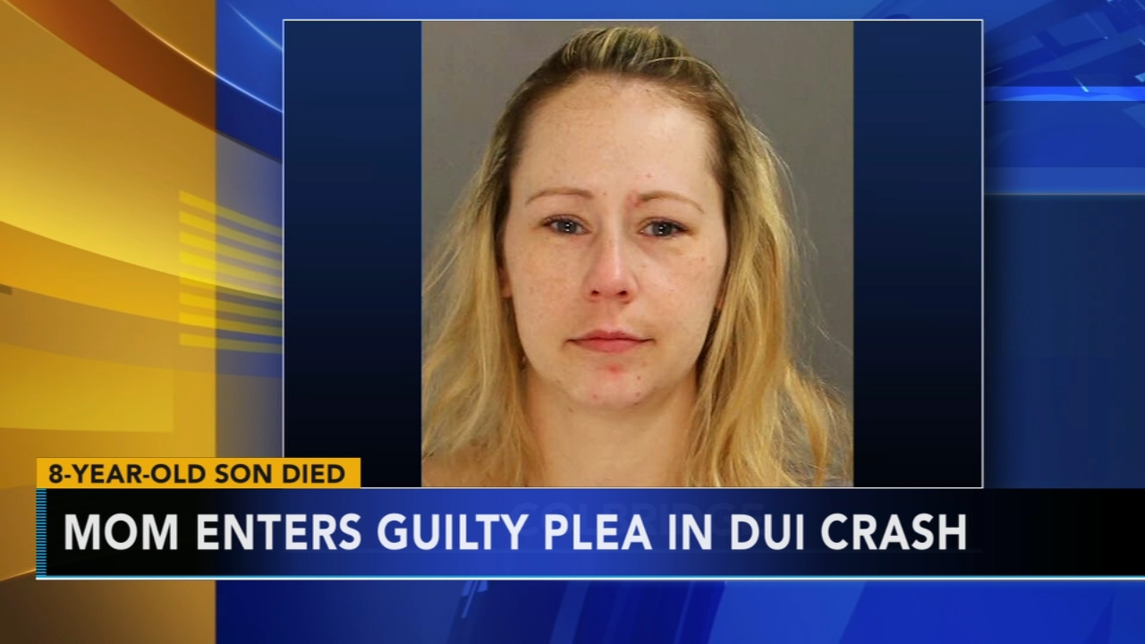 Mom pleads guilty in DUI crash that killed son, 8. Watch this report from Action News at 4:30pm on January 22, 2019.