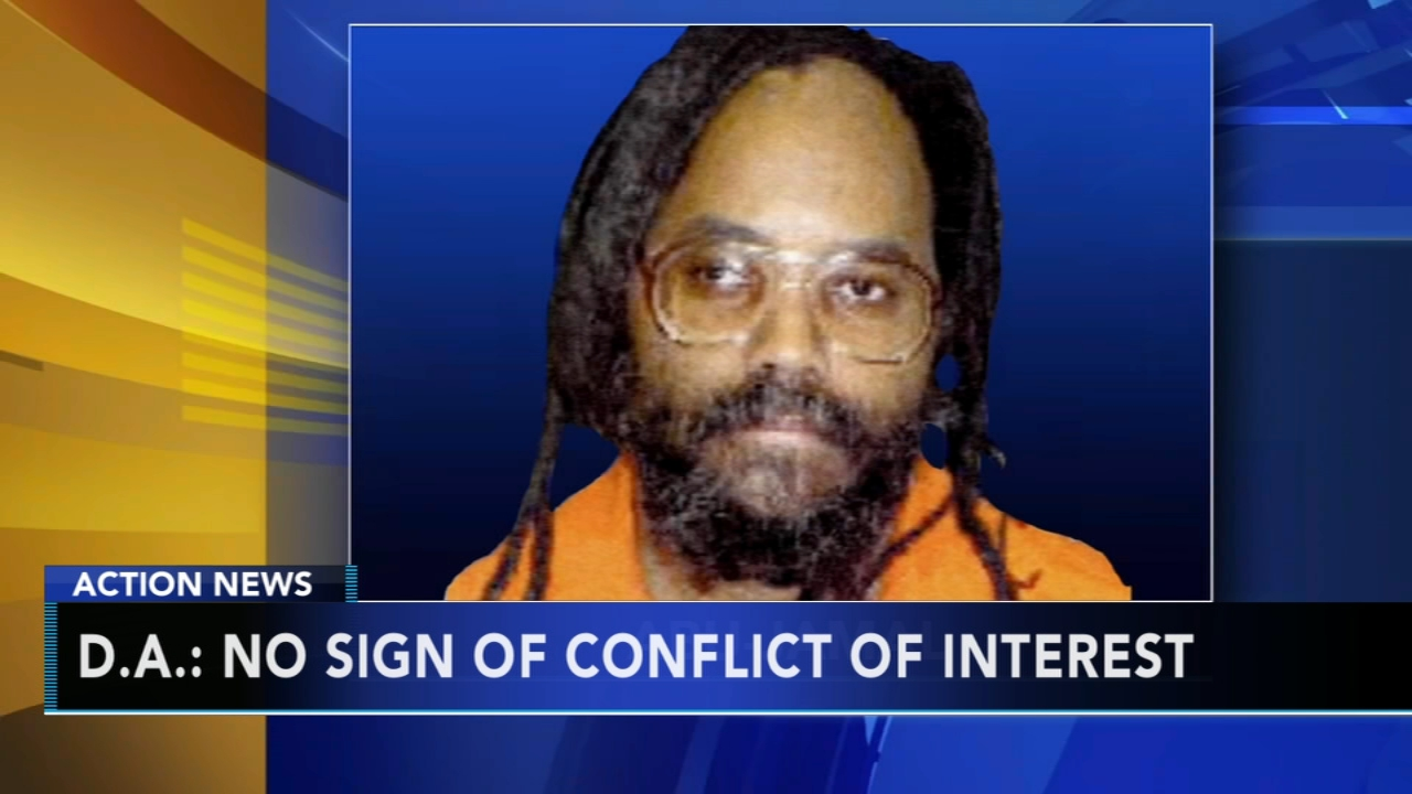 DA: New Mumia Abu-Jamal files show no sign of judge conflict. Monica Malpass reports during Action News at 5:30 p.m. on January 22, 2019.