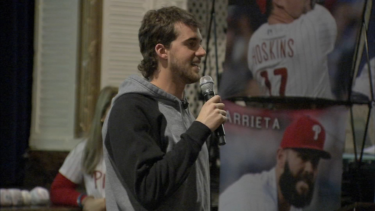 Phillies Pitcher Aaron Nola helps to strike out bullying at school. Jeff Skversky reports during Action News at 6 p.m. on January 23, 2019.