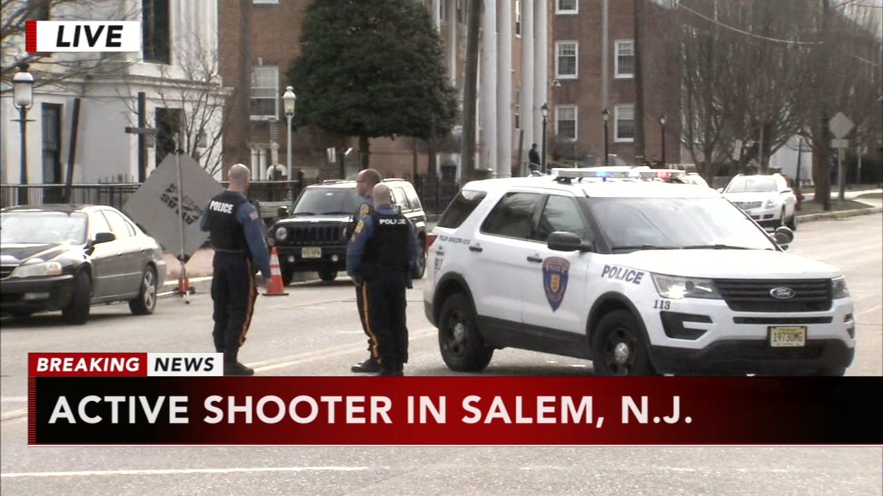 Active shooter incident reported in Salem, New Jersey. Gray Hall reports during Action News at 12:30 p.m. on January 23, 2019.
