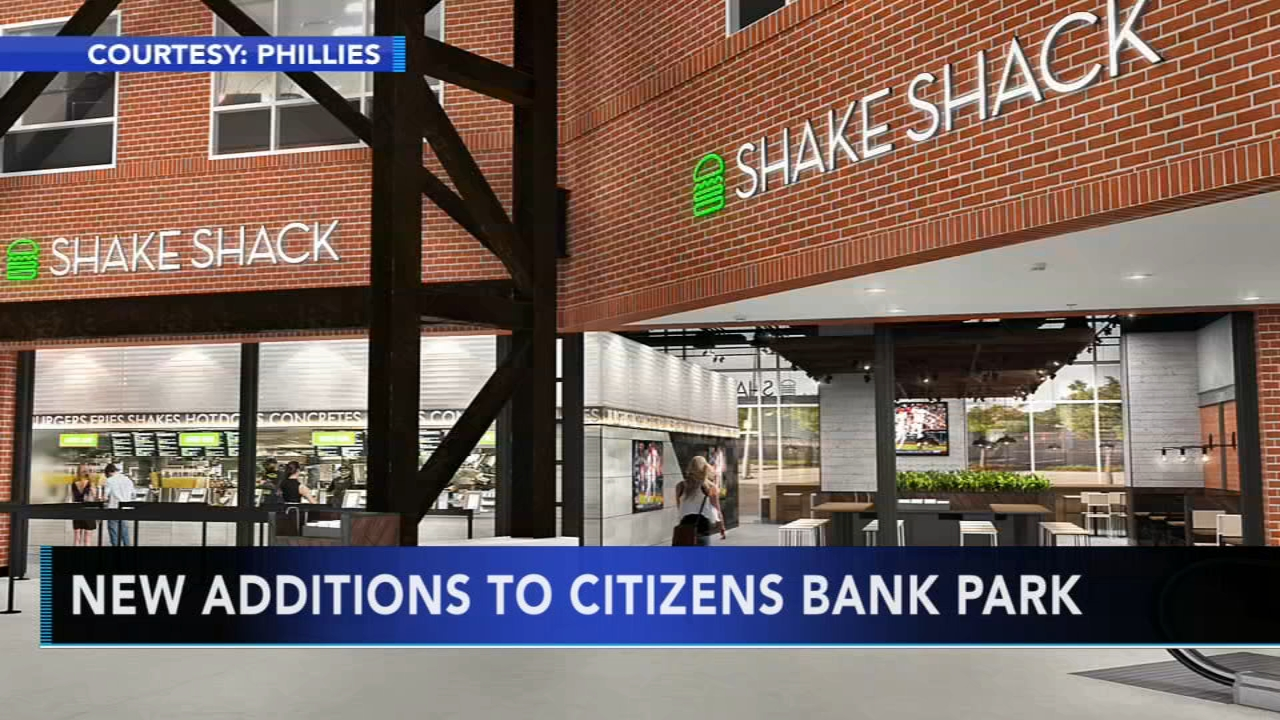 New additions, Shake Shack coming to Citizens Bank Park. Matt ODonnell reports during Action News Mornings on January 23, 2019.