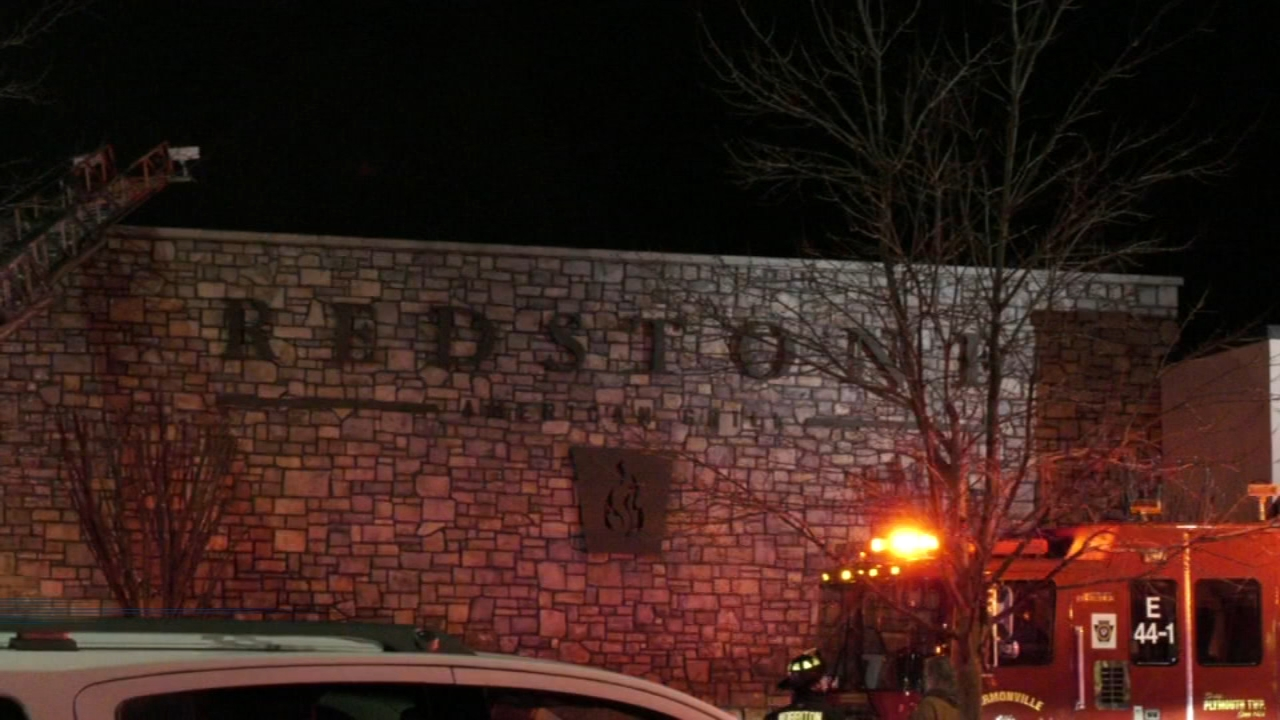 Firefighters said it took half an hour to extinguish the blaze at Redstone American Grill as reported during Action News at 11 on January 23, 2019.