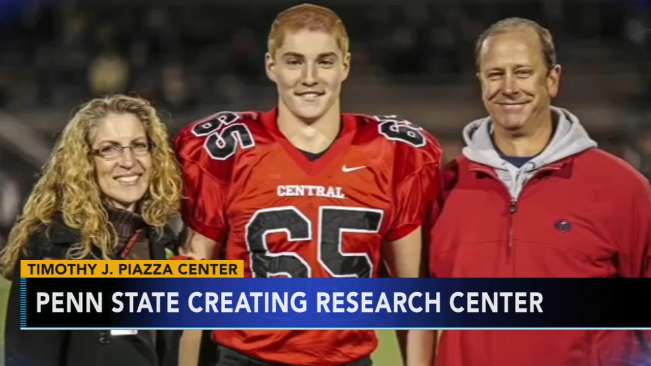 Penn State creating Timothy J. Piazza Center. Matt ODonnell reports during Action News Mornings on January 23, 2019.