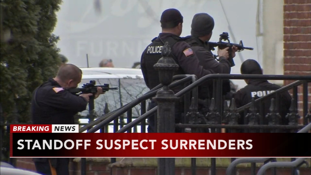 Suspect in custody after standoff in Salem; no injuries reported. Sarah Bloomquist reports during Action News at 4pm on January 23, 2019.
