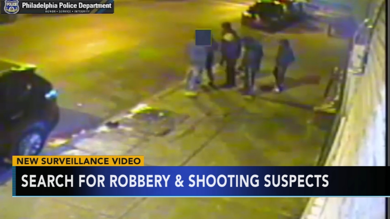 New video of alleged suspects in man shot in face over $20. Rick Williams reports during Action News at 12:30 p.m. on January 23, 2019.