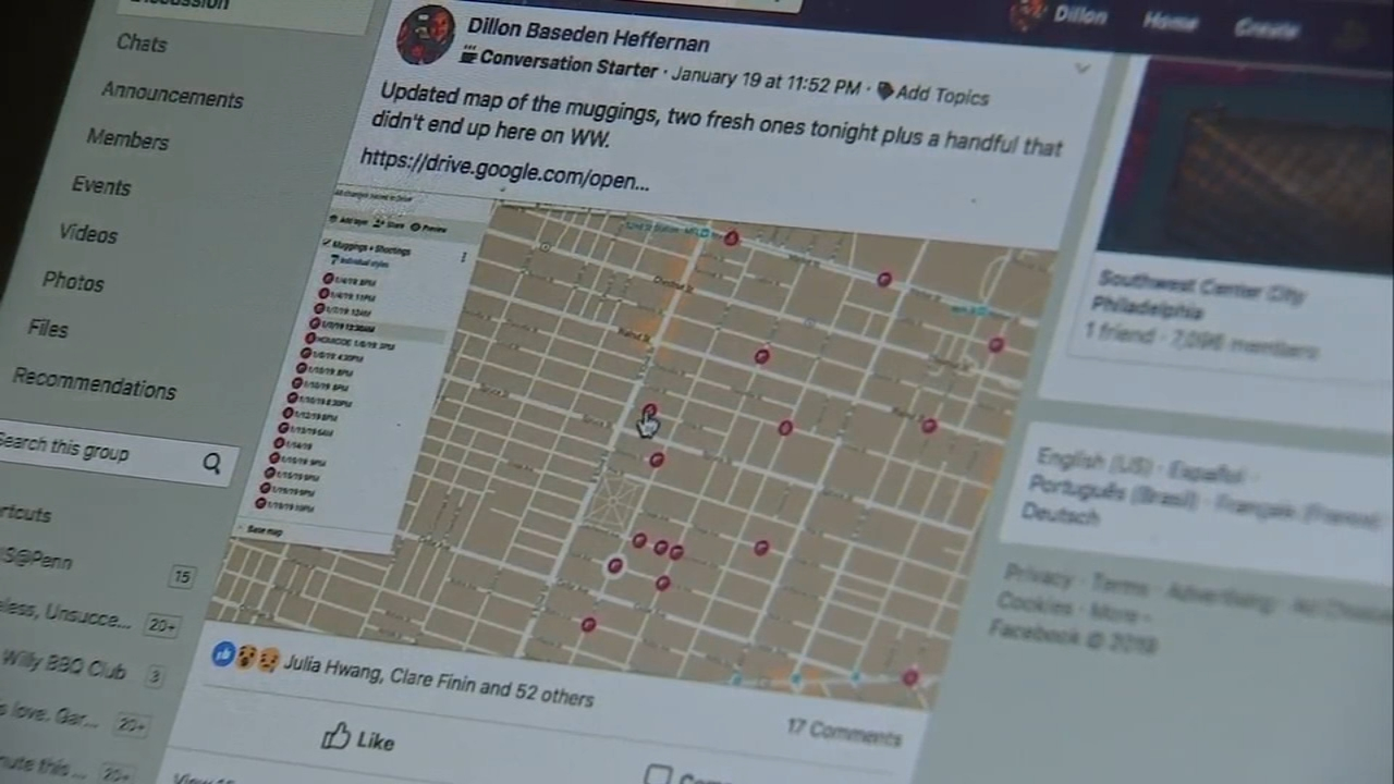 West Willy group chronicles crime in West Philly: Maggie Kent reports on Action News at 4 p.m., January 23, 2019