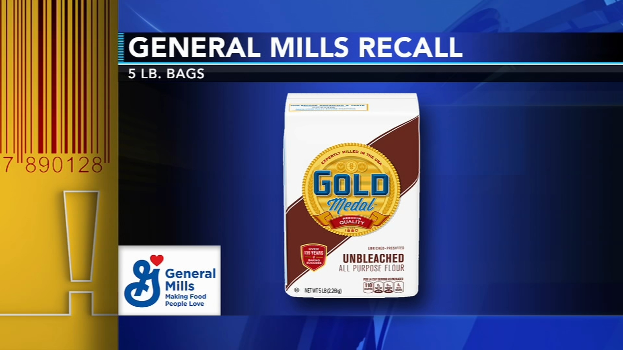 General Mills recalls flour due to salmonella concerns. Maribel Aber reports during Action News Mornings on January 24, 2019.