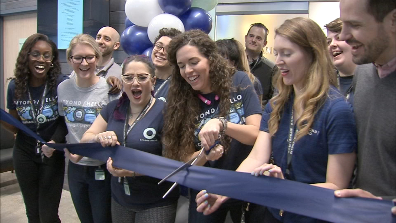 Center Citys 1st medical marijuana dispensary opens. Jeannette Reyes reports during Action News at Noon on January 24, 2019.