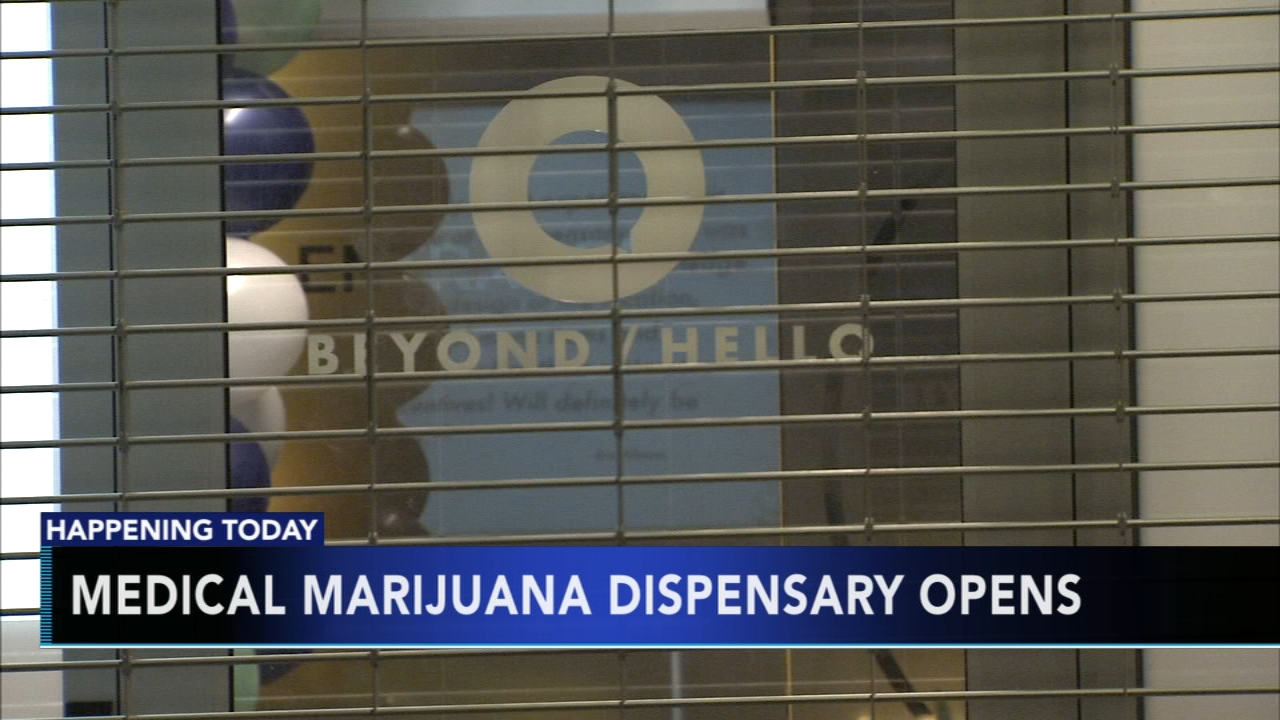 Medical marijuana dispensary opens in Philly. Matt ODonnell reports during Action News Mornings on January 24, 2019.