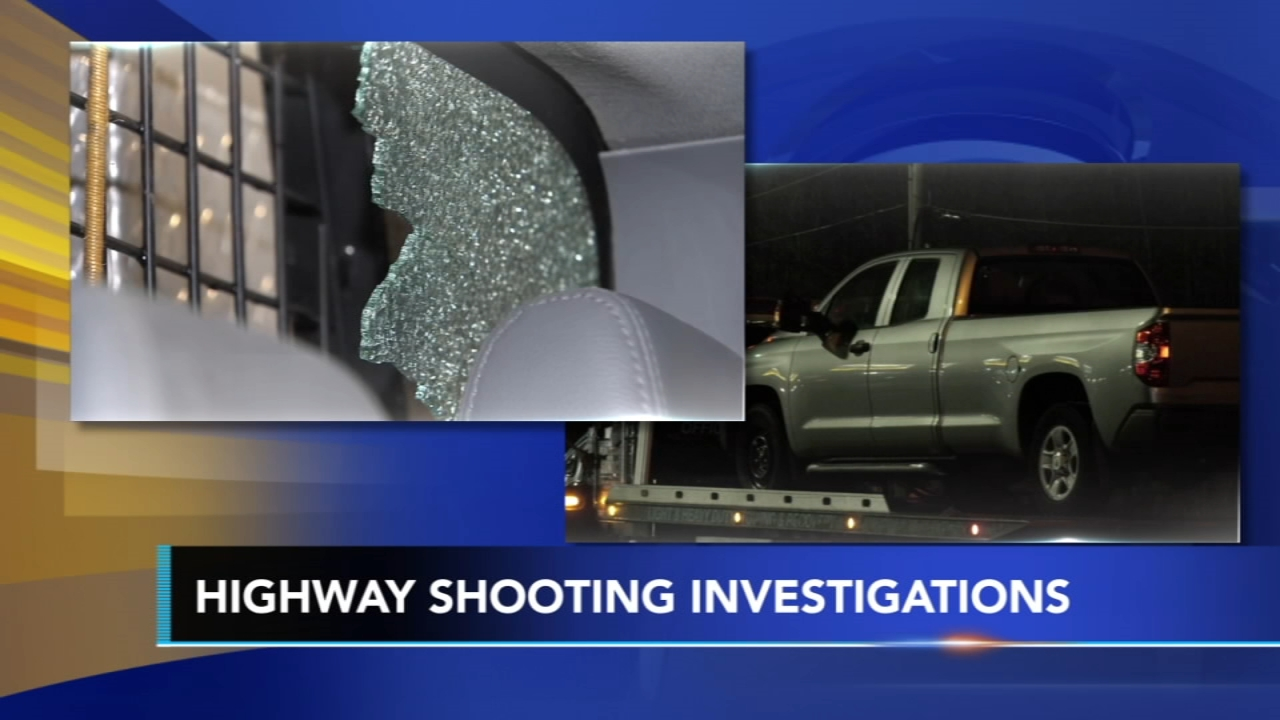Police investigate road rage shooting incidents: John Rawlins reports on Action News at 4 p.m., January 24, 2019