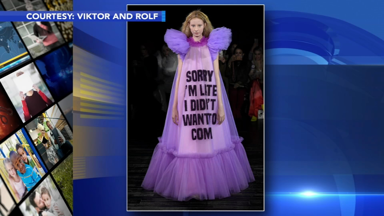 Designers make a statement at Paris Fashion Week runway show. Rick Williams reports during Action News at 4 p.m. on January 25, 2019.