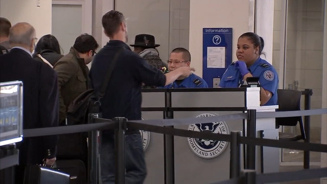 Air travel returns to normal after sick calls prompt delays. John Rawlins reports during Action News at 4pm on January 25, 2019.