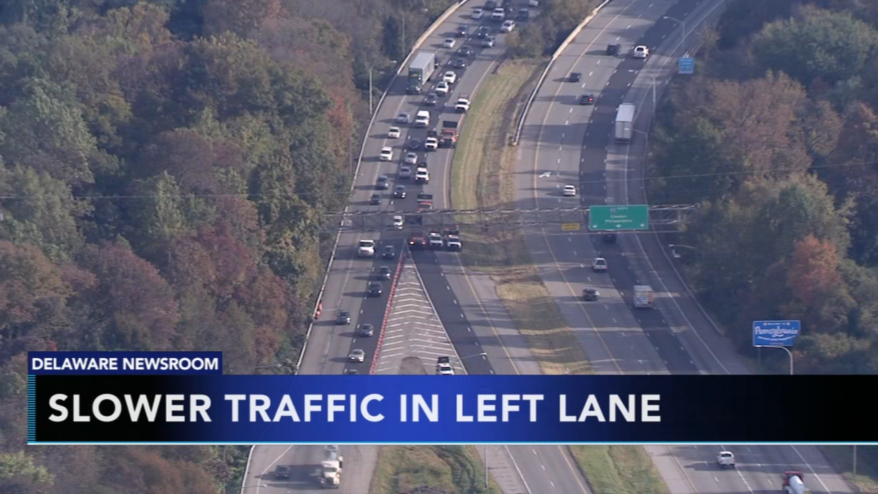 Del. lawmakers look to get slow drivers out of left lane. Tamala Edwards reports during Action News Mornings on January 25, 2019.