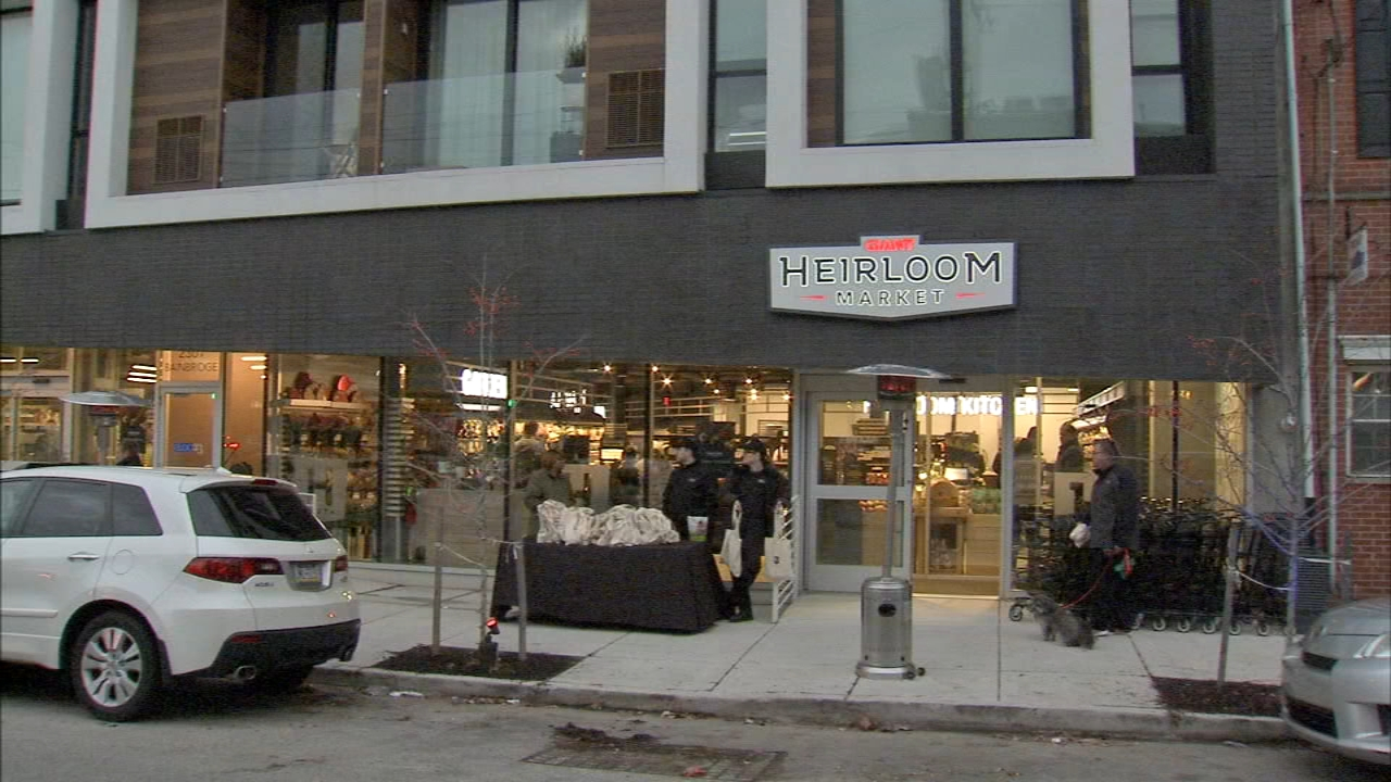 The Heirloom Market is at 24th and Bainbridge and Giant says its packed full of fresh, local, seasonal foods as reported during Action News at11 on January 25, 2019..