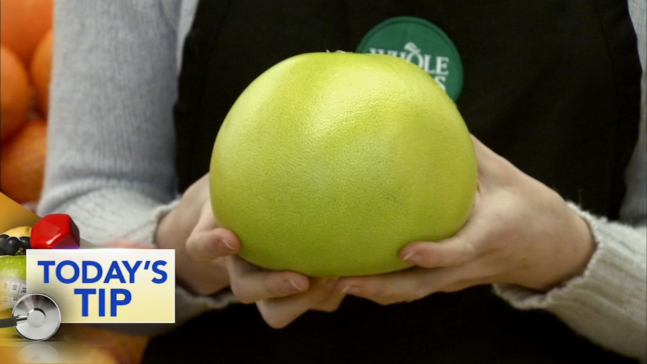 Kathleen from Whole Foods tells you about a fruit you may not have tried before - the pomelo.