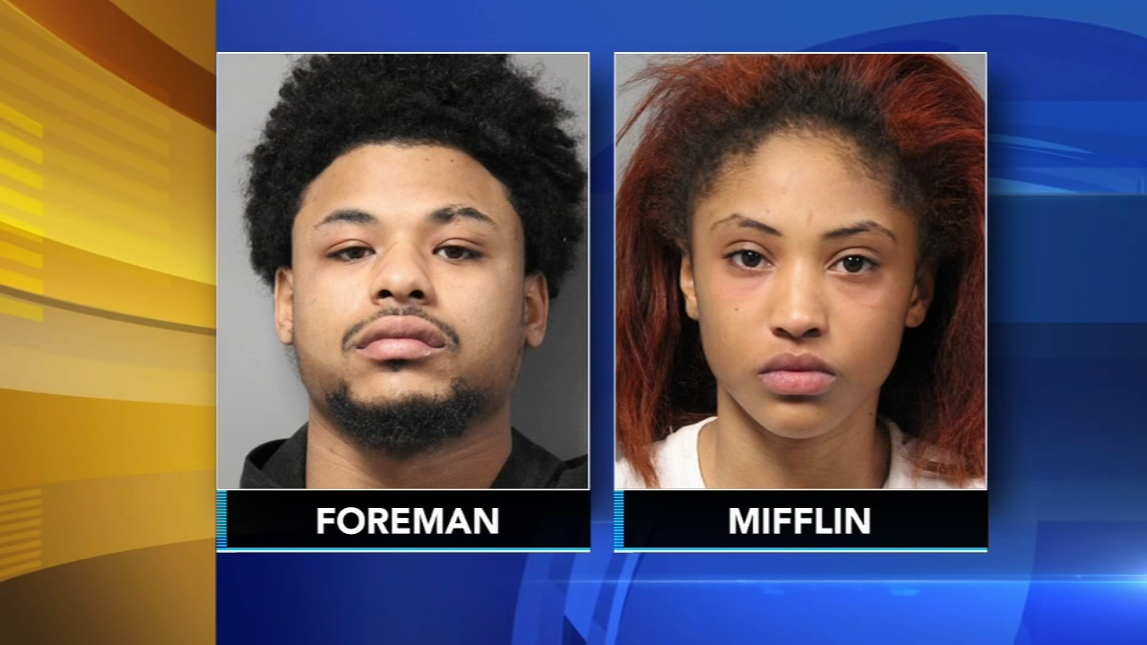 Police: Man wanted for lewd act leads to 3 arrests in Delaware. Sharrie Williams reports during Action News at 5 p.m. on January 25, 2019.