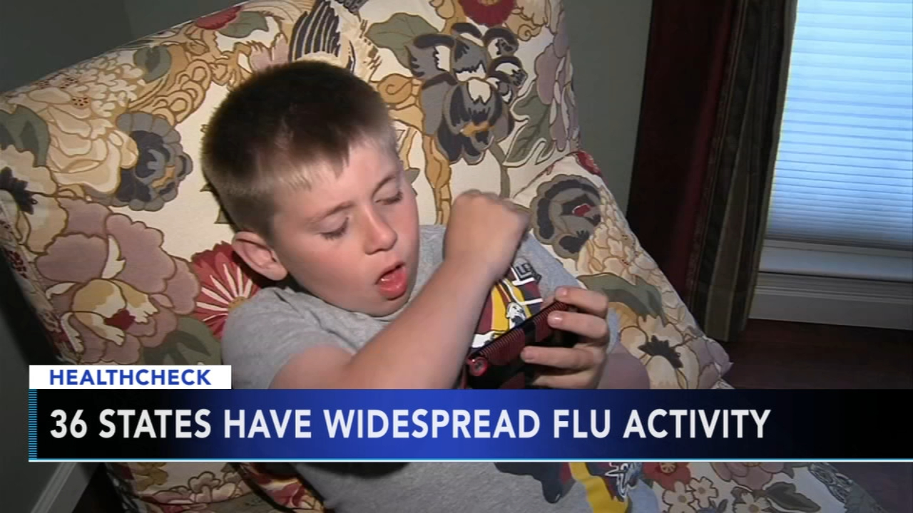 CDC sees significant increase in flu activity over past week. Gray Hall reports during Action News at 7 a.m. on January 26, 2019.