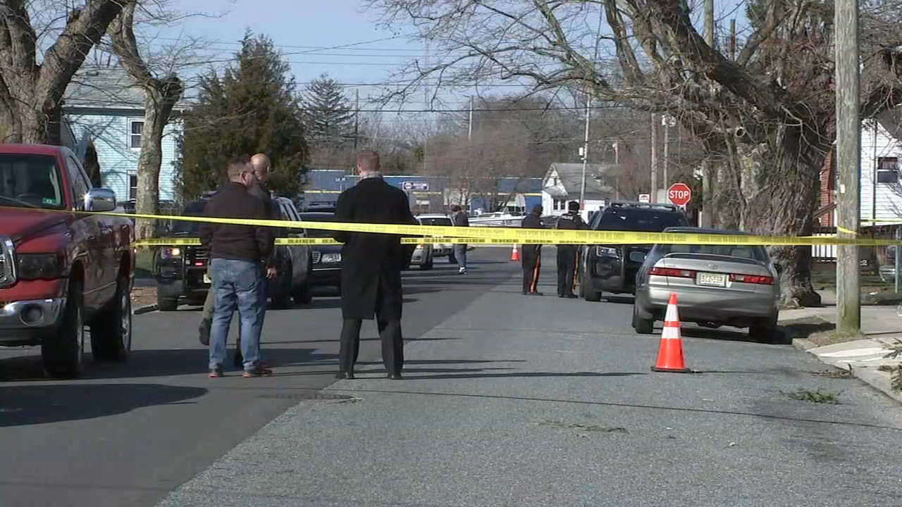 Police investigate fatal shooting in Pleasantville, New Jersey.