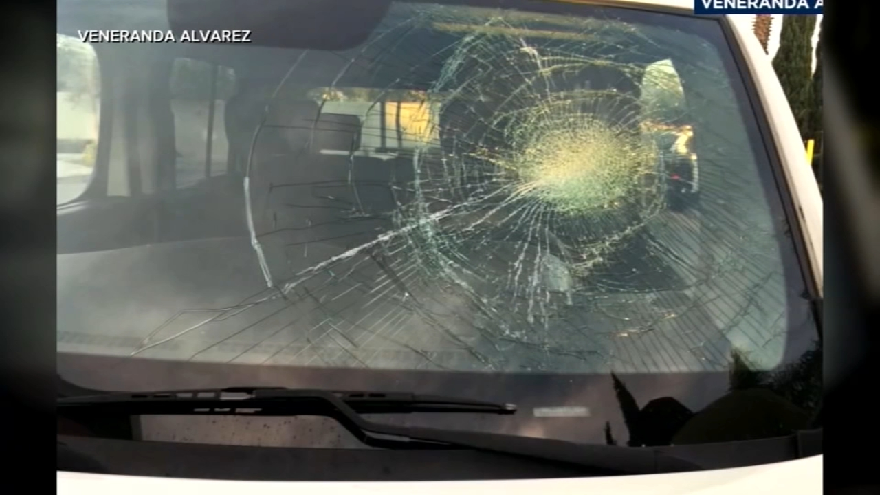 Man arrested after smashing womans windshield with bare fist in Anaheim. Gray Hall reports during Action News at 7 a.m. on January 26, 2019.