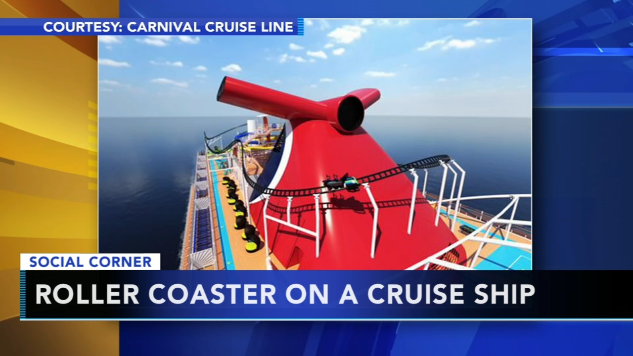 Carnival Cruises to add roller coaster to cruise ship. Nydia Han reports during Action News at 10 a.m. on January 27, 2019.