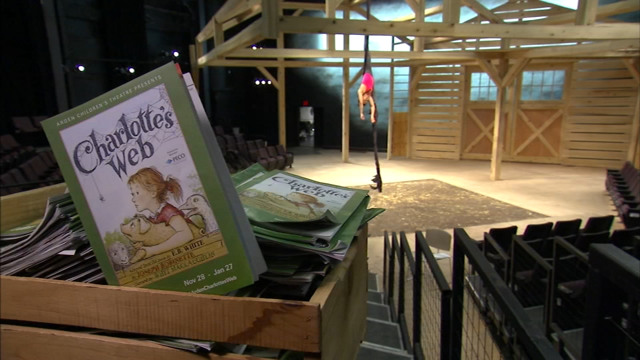 Enter Charlottes Web at the Arden Theatre Co. Karen Rogers reports during Action News at 7 a.m. on January 27, 2019.