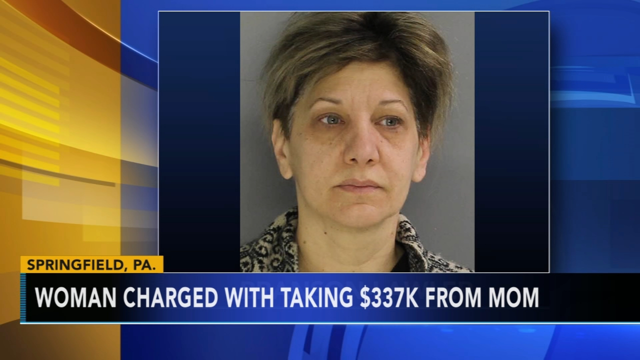 Woman charged with stealing $337K from mother: as seen on Action News at 4 p.m., January 28, 2019